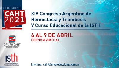 XIV congreso argentino de hemostasia y trombosis