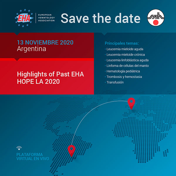 Save The Date. Highlights of Past EHA.