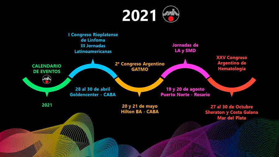 Calendario SAH 2021
