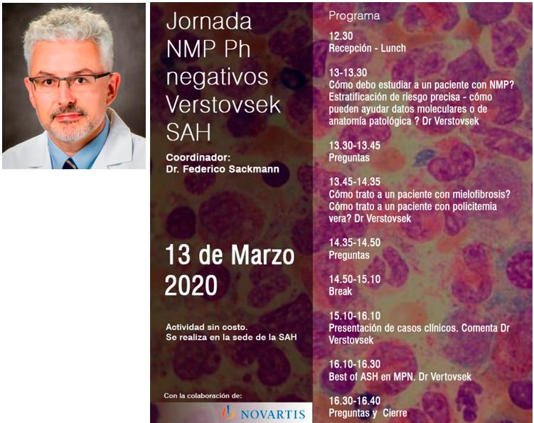 Primera Jornada Científica SAH 2020